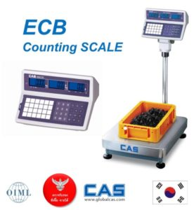 ECB-counting-scale-276x300 เครื่องชั่งนับชิ้นงาน CAS - ECB  Counting Scale